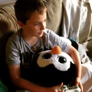 Patrick and Mega Penguin