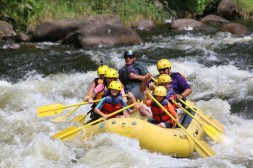 Whitewater rafting!