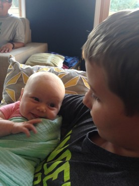 Robin may already have a favorite cousin!